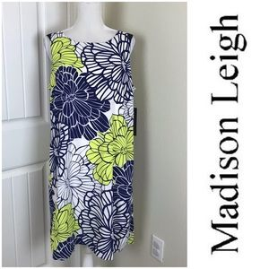 Madison Leigh A-line Summer Dress Floral Size 16